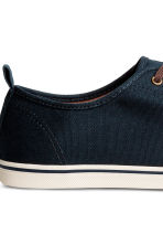 Trainers - Dark blue - Men | H&M 4