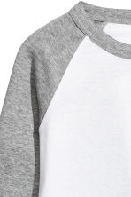 Baseball shirt - Grey marl - Ladies | H&M 3