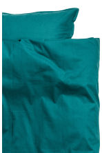 Cotton duvet cover set - Petrol - Home All | H&M GB 3