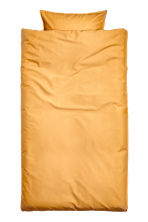 Cotton duvet cover set - Mustard yellow - Home All | H&M CN 1