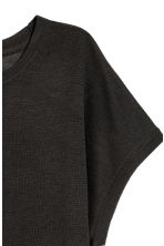 Fine-knit top - Dark grey - Ladies | H&M 3