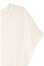 Fine-knit top - Natural white - Ladies | H&M 3