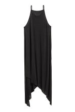 Ribbed jersey dress - Black - Ladies | H&M 2