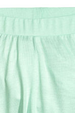 Jersey trousers - Mint green -  | H&M CA 2