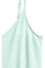 Jersey strappy top - Mint - Ladies | H&M 3
