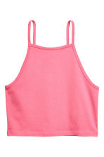 Cropped top - Pink - Ladies | H&M CA 2