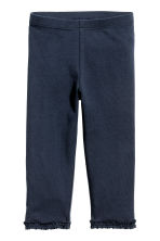 2-pack 3/4-length leggings - Dark blue - Kids | H&M 2
