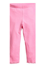 2-pack 3/4-length leggings - Pink -  | H&M 4