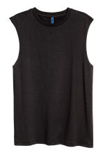 Vest top - Black - Men | H&M 2
