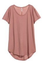 Jersey crêpe top - Light terracotta - Ladies | H&M 2