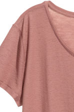 Jersey crêpe top - Light terracotta - Ladies | H&M 3