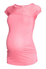 MAMA Top con pizzo - Rosa - DONNA | H&M IT 2