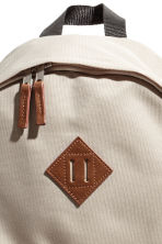 Backpack - Beige/Cognac brown - Men | H&M 3