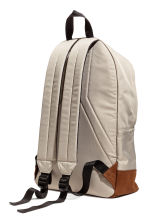 Backpack - Beige/Cognac brown - Men | H&M 2