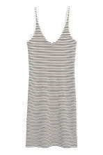 Jersey dress - Natural white/Striped -  | H&M CA 2