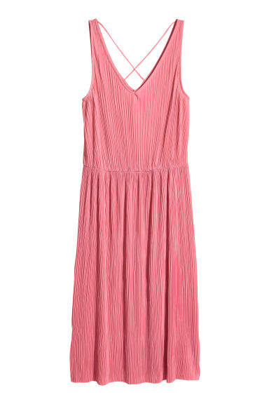 Pleated dress - Pink - Ladies | H&M CA 1