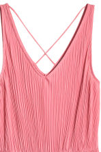 Pleated dress - Pink - Ladies | H&M CA 2