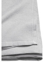 Waffled bedspread single - Light grey - Home All | H&M CN 3