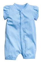 3-pack all-in-one pyjamas - Blue/Spotted -  | H&M 3