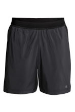 Ultra-light running shorts - Black - Men | H&M 2