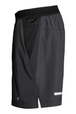 Ultra-light running shorts - Black - Men | H&M 3