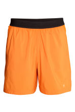 Ultra-light running shorts - Orange - Men | H&M 2
