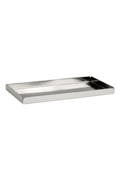 Small metal tray - Silver - Home All | H&M CN 1