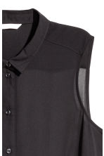 Sleeveless blouse - Black - Ladies | H&M 3