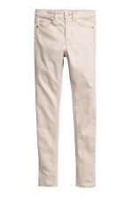 Stretch trousers - Light beige - Kids | H&M CA 2
