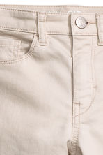 Stretch trousers - Light beige - Kids | H&M CA 3