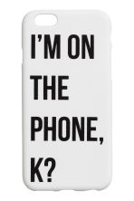 iPhone case - White - Ladies | H&M CA 1