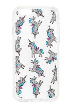 Cover per iPhone - Bianco/unicorno - DONNA | H&M IT 1