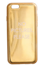 iPhone case - Gold - Ladies | H&M 1