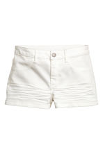 Twill shorts - White - Ladies | H&M 2