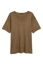 T-shirt - Khaki brown - Men | H&M 2