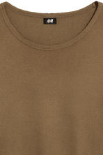 T-shirt - Khaki brown - Men | H&M 3