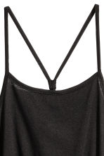 Jersey dress - Black -  | H&M CN 3