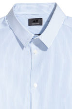 Stretch shirt Slim fit - White/Blue striped - Men | H&M CN 3