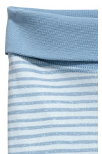 Jersey trousers - Light blue/Striped -  | H&M CA 2