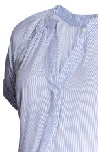 MAMA Patterned blouse - White/Blue striped - Ladies | H&M CN 3