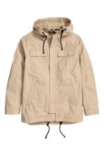 Parka with a hood - Beige - Men | H&M 2