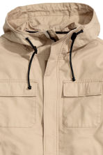 Parka with a hood - Beige - Men | H&M 4
