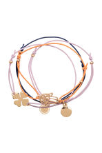 4-pack elastic bracelets - Gold - Ladies | H&M 1