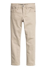 Twill trousers Skinny fit - Light beige - Kids | H&M CN 2