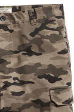 Cargo shorts - Khaki/Patterned - Men | H&M 4