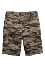 Cargo shorts - Khaki/Patterned - Men | H&M 3