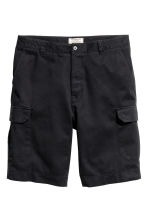 Cargo shorts - Black - Men | H&M CN 2