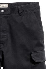 Cargo shorts - Black - Men | H&M CN 3