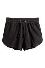 Sweatshirt shorts - Black - Ladies | H&M 2