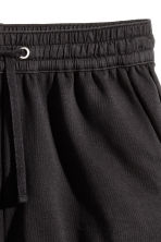 Sweatshirt shorts - Black - Ladies | H&M 3